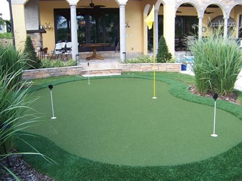 backyard putting green kit putting green kits landscaping network