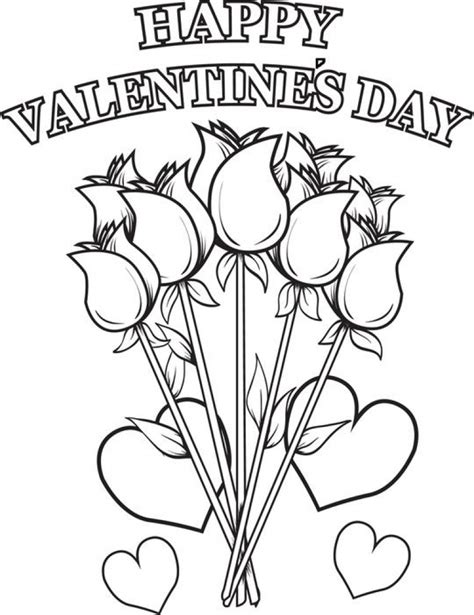 valentines day coloring page valentines day pages print coloring pages