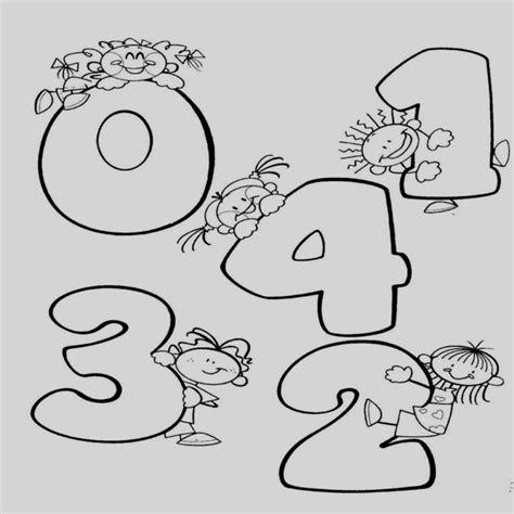 imagenes recursos naturales para colorear dibujos para colorear numeros recursos el aula n meros