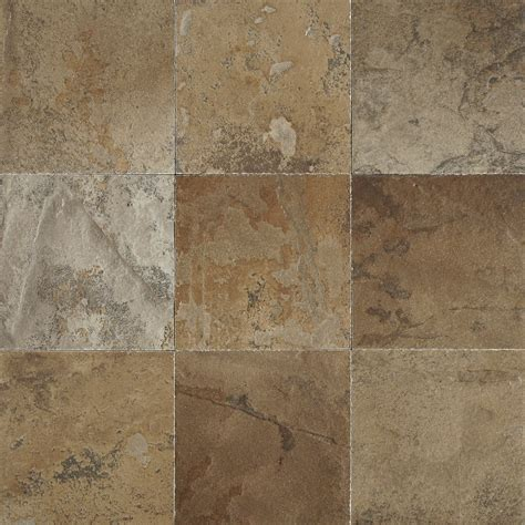 shop del conca 4 in x 4 in porcelain slate brown glazed porcelain wall tile at lowes com