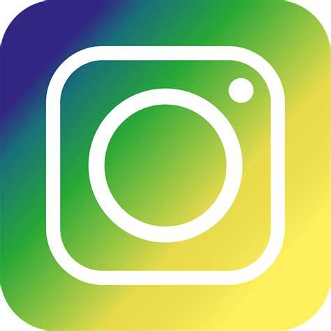 green yellow logo free illustration instagram icon green yellow free