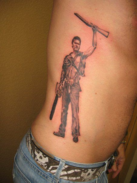 evil dead tattoo my evil dead quot ash quot bruce cbell done by carlos