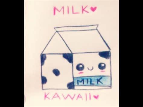 imagenes kawaii leche dibujo de kawaii paso a paso imagui