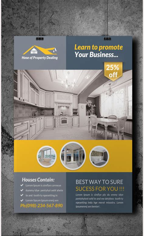 flyer template real estate marketing 45 psd real estate marketing flyer templates free