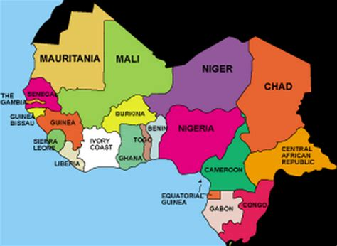 west africa map capitals west africa countries and capitals map thinglink