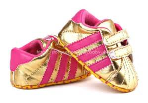 baby gold soft sole crib shoes sneakers size newborn