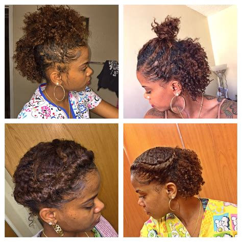 braid out on natural hair thats short pinterest 6 cute hairstyles for a braid out short hair natural
