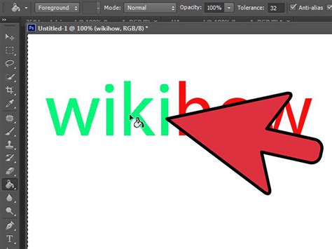 how to change color of text in photoshop how to change text color in photoshop 8 steps with pictures