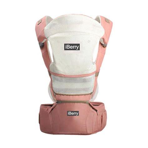 Gendongan Bayi Umur 9 Bulan jual murah iberry 9 in 1 baby carrier pink