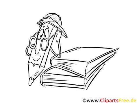 cartoon stift bild malvorlage ausmalbild kostenlos