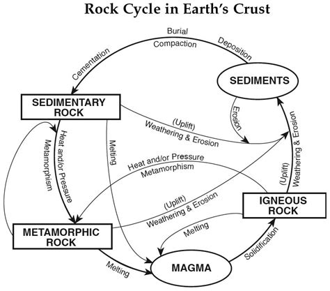 apupa pattern library science the rock cycle worksheet the best worksheets image