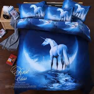 King Size Bedding With Horses 3d Duvet Cover Pillowcase Quilt Cover Bedding Set King