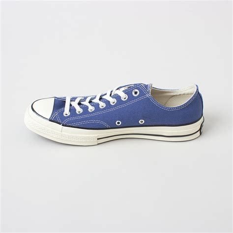 Converse 70s Low Dress Blue converse chuck all 70 low top in blue true