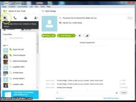 youtube tutorial skype skype tutorial how to add contacts and send files in