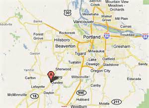 dundee oregon map sighting reports 2011