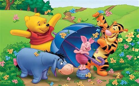 imagenes de winnie pooh que brillen y se muevan tigger eeyore piglet and winnie the pooh cartoon spring