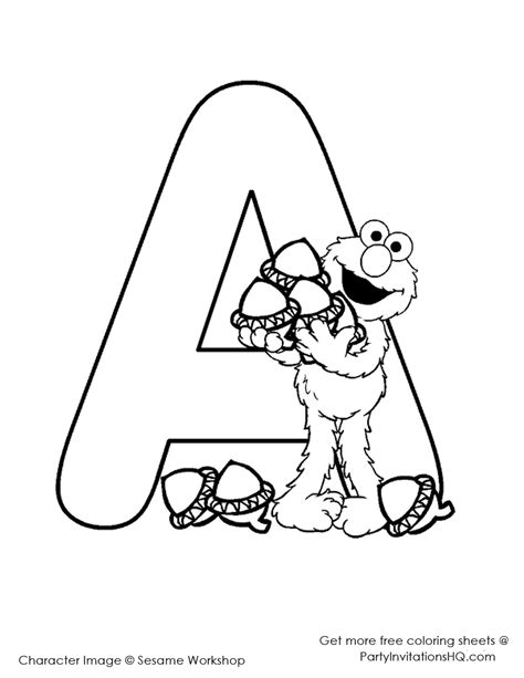 Letter A Coloring Pages Preschool And Kindergarten Preschool Color Sheets