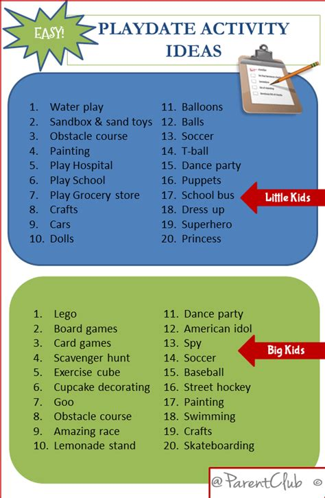 day activity ideas easy playdate activity ideas