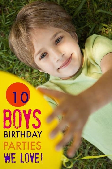 10 boys birthday party theme ideas i love this week 10 boys birthday parties we love spaceships and laser beams