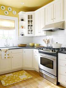 Yellow Kitchen With White Cabinets Paint The Ceiling Or No The Decorologist