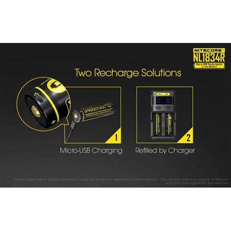 Nitecore 18650 Micro Usb Rechargeable Li Ion Battery 2600mah Nl1826r nitecore 18650 micro usb rechargeable li ion battery 3400mah nl1834r black jakartanotebook