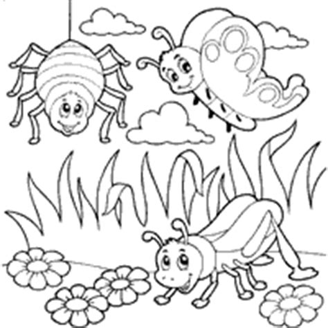 garden bugs coloring page bug 187 coloring pages 187 surfnetkids