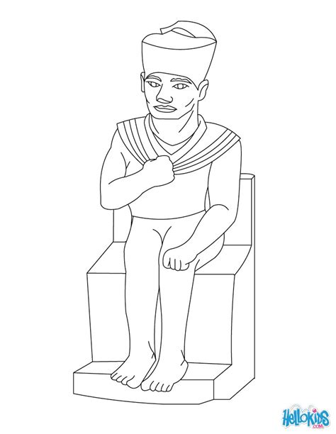 Egyptian Queen Nefertiti Coloring Pages Coloring Pages Pharaoh Coloring Pages