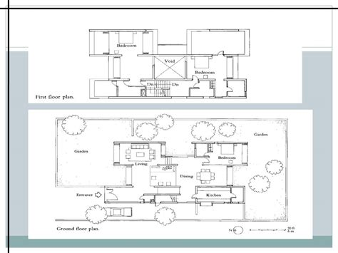 Twin Home Floor Plans charles correa parekh house the archi blog
