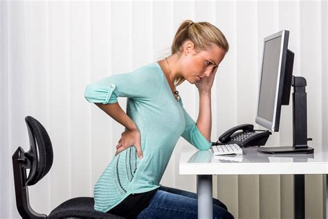 position au bureau back due to a herniated disc in san diego ca