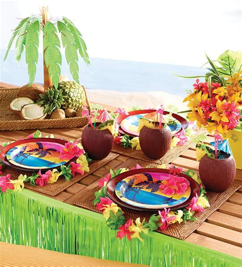 Hawaiian Luau Decorations by Decoration Luau Decorations