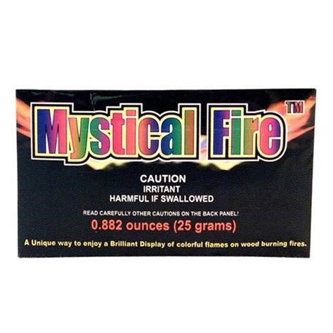 Mystical Cfire Fireplace Colorant Packets by Mystical Cfire Fireplace Colorant Packets 50 Pack