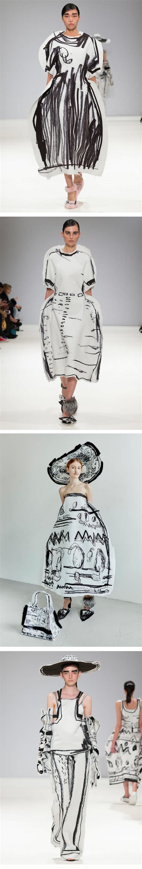 edda design edda gimnes fashions are pencil sketches come to