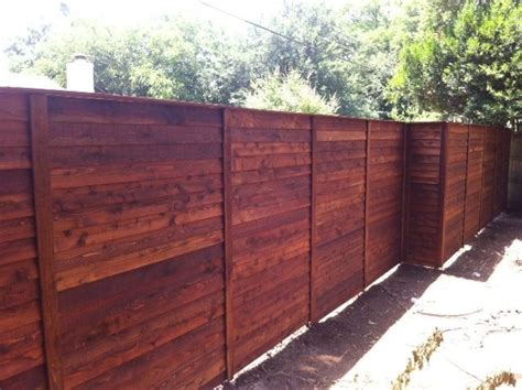 horizontal wood fence horizontal cedar fence best images about gate fences on