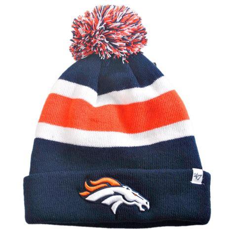 broncos knit hat 47 brand denver broncos nfl breakaway knit beanie hat nfl