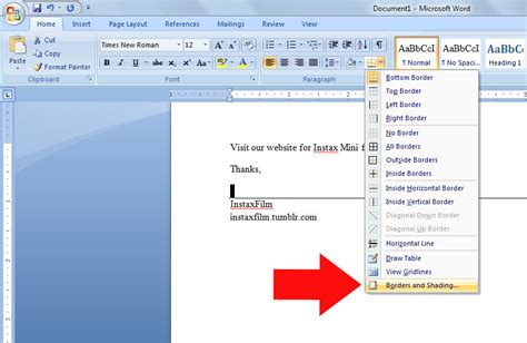 How To Insert A Line In Word For Resume