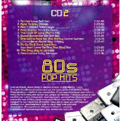 80s Hits by 80s Pop Hits Cd Mp3 Buy Tracklist