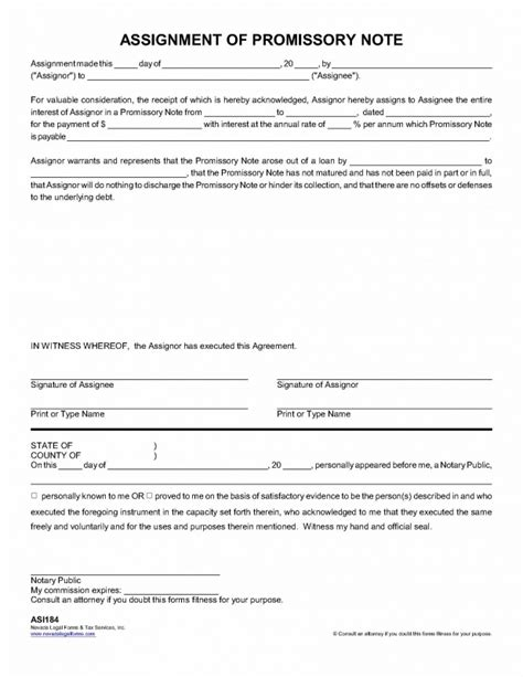 Promissory Note Assignment Pdfeports585 Web Fc2 Com Assignment Of Promissory Note Template