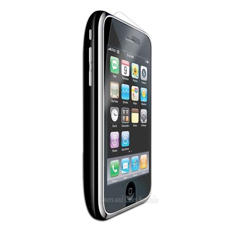 clear lcd screen protector film  apple iphone gs