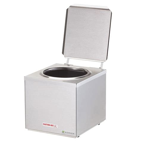 Blouse Jumbo Napoli Ld 120 server 92000 single dip server cone dip warmer ss countertop 120 v