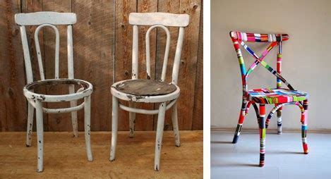 The Art Of Up Cycling: Upcycled Chairs   Cool Ideas For