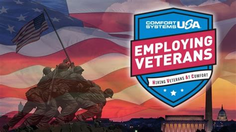 comfort systems usa jobs comfort supports our veterans comfort systems usa