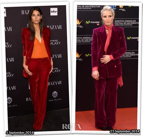 Who Wore Pucci Better by Who Wore Emilio Pucci Better Aldridge Or Noomi