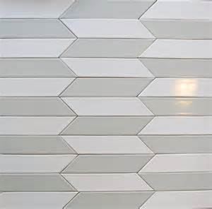 Subway Tile Designs ceramic chevron subway tile gray silver fox modwalls