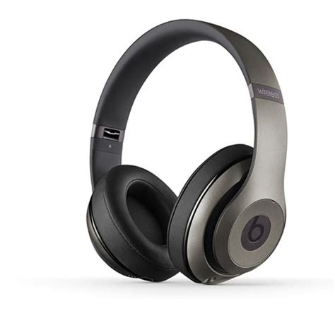 Headphone Beats Studio Wireless beats by dr dre studio wireless ear headphones titanium iwoot