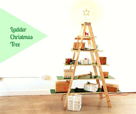 how to make a ladder christmas tree ladder tree