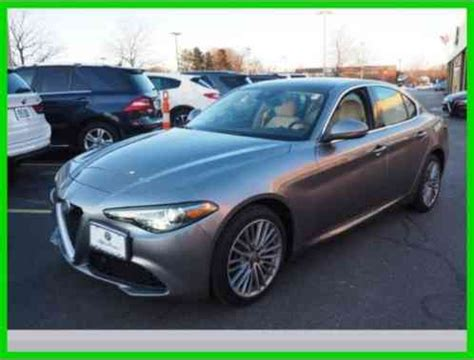 alfa romeo giulia ti  wheel drive sedan  internet sales car  sale