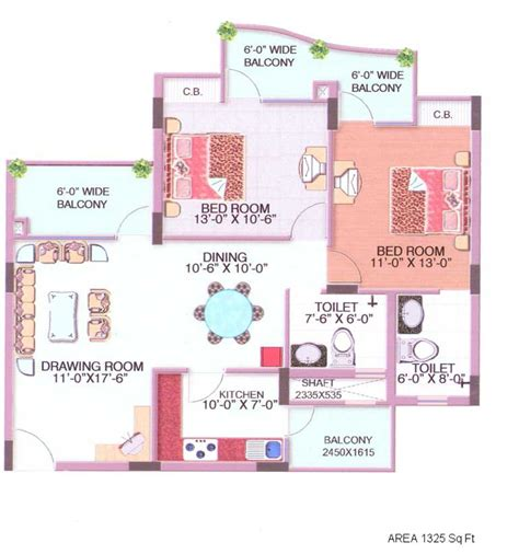 2 bedroom house plans in india floor plans civitech housing india p ltd ghaziabad
