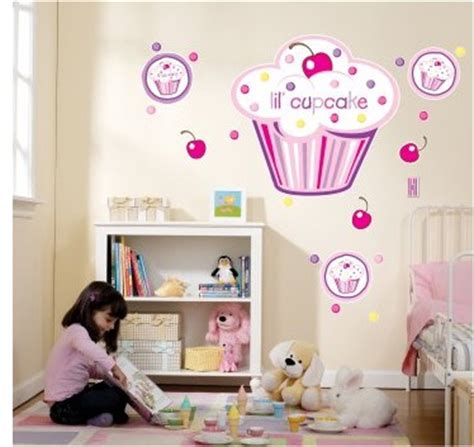 cupcake bedroom decor cupcake bedroom decor cupcake girl giant wall decals all things cupcake