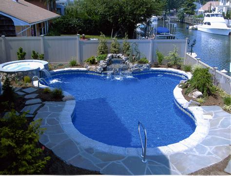 Backyard Swimming Pool Ideas with Backyard Landscaping Ideas Swimming Pool Design