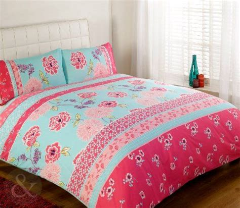 pink and turquoise bedding floral oriental bedding chic vintage duvet cover luxury